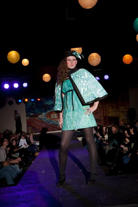 Designer:  Nicole Cuddihy Materials:  Tyvek