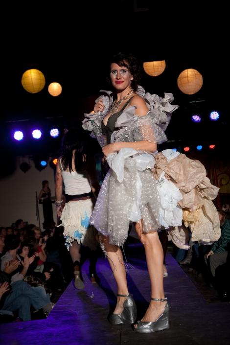 Designer: Panambi Materials:  Plastic Bags & Bubble Wrap