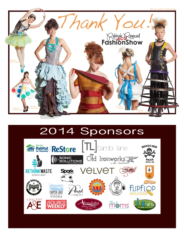 RR 2014 Sponsor Thank You Sheet