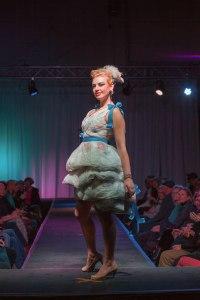 Designer:  N. Spekktor  Materials:  Plastic grocery bags