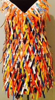 Designer: Kelly Powell Materials: Fused plastic bags