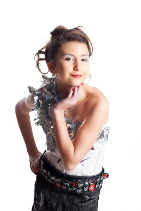 Designers: Kiki, Aja & Alice Materials: Bike inner tubes, rice bag, coffee bag mylar