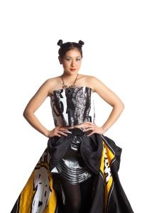 Designer: Karlin Hedin Materials: Plastic Bags &