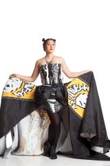 Designer: Karlin Hedin Materials: Plastic Bags & canopy