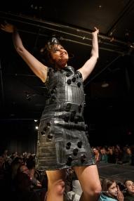 Designer: Maurice Model: Dr. Rebecca Franklin