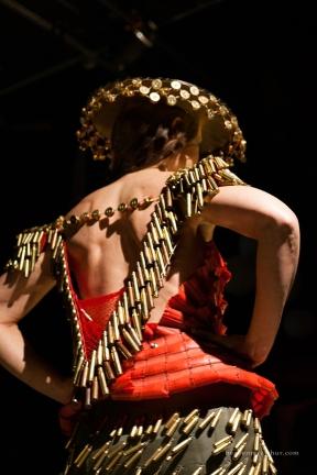 Designer: Karen Holm Model: Pam Hardy